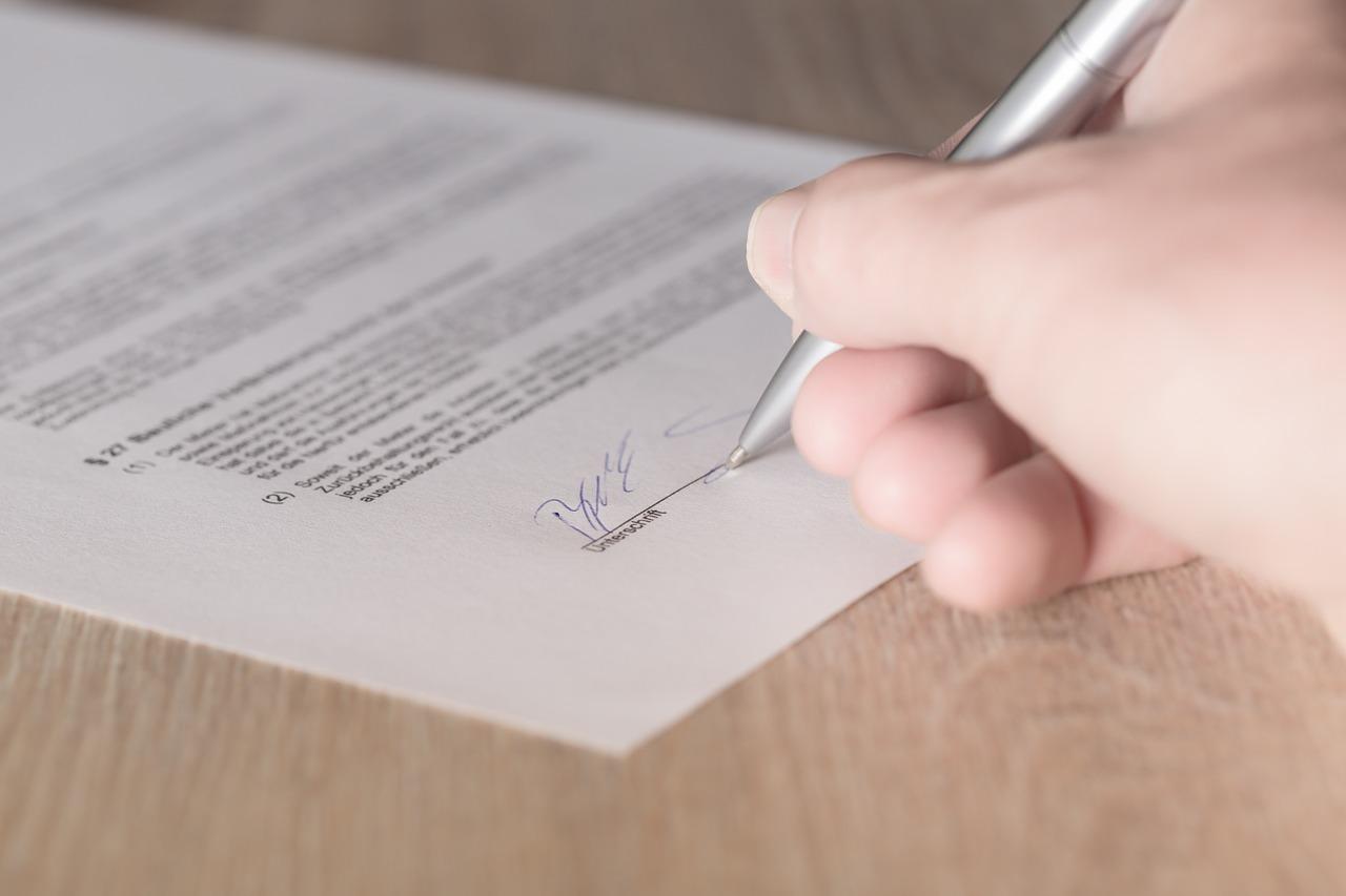 Vertragsänderung beim Immobilienerwerb