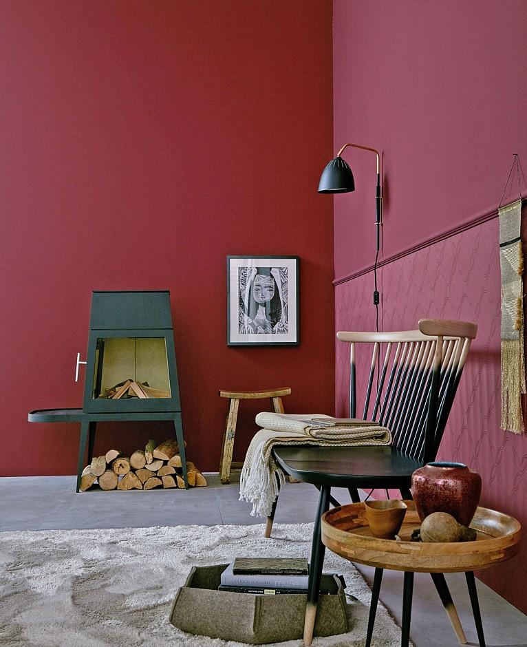 Farbe Wohnen ein hauch puder immobilien journal de