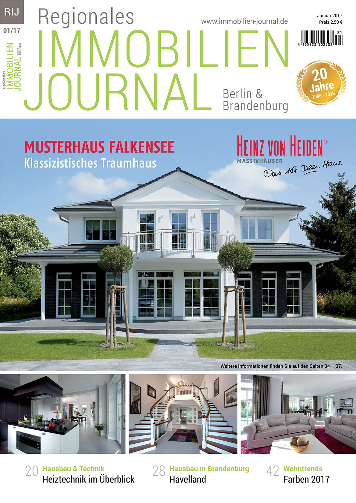 Regionales immobilien journal berlin brandenburg januar for Hausbaufirmen brandenburg