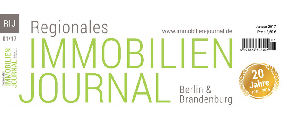 Regionales Immobilien Journal Berlin & Brandenburg Januar 2017