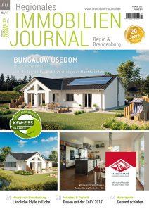 Regionales Immobilien Journal Berlin & Brandenburg Februar 2017