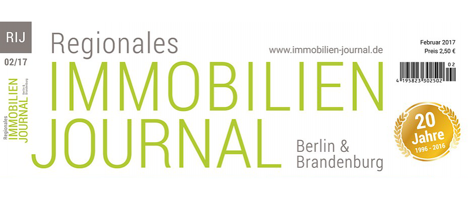 Regionales Immobilien Journal Berlin & Brandenburg Februar 2017
