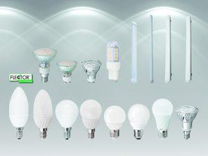 LED-Leuchtmittel haben eine besonders lange Lebensdauer und liefern sofort hundert Prozent Licht ohne vorherige Aufwärmzeit. Foto: Hellweg