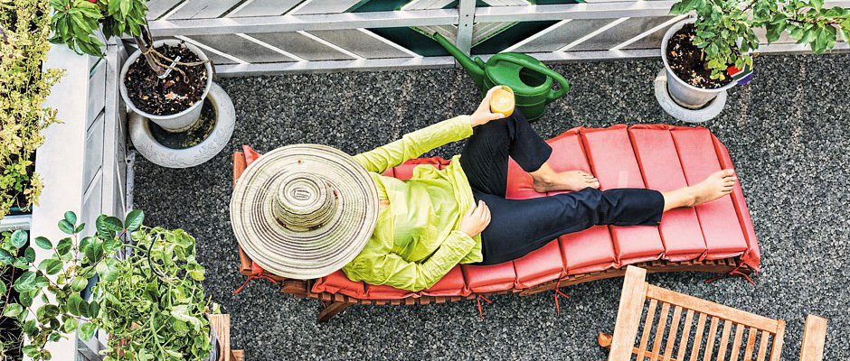 Schöne Grüße Aus Balkonien | Www.immobilien-journal.de Schone Balkon Und Terrasse Gestaltung Akzente