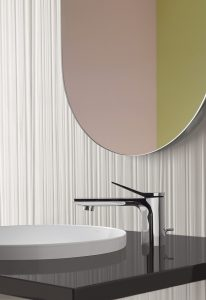 """Accentuate your bathroom"": Die neue Armaturenserie Lissé Foto: Dornbracht"