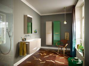 Sinea bringt neuen Schwung ins Badezimmer Foto: Burgbad