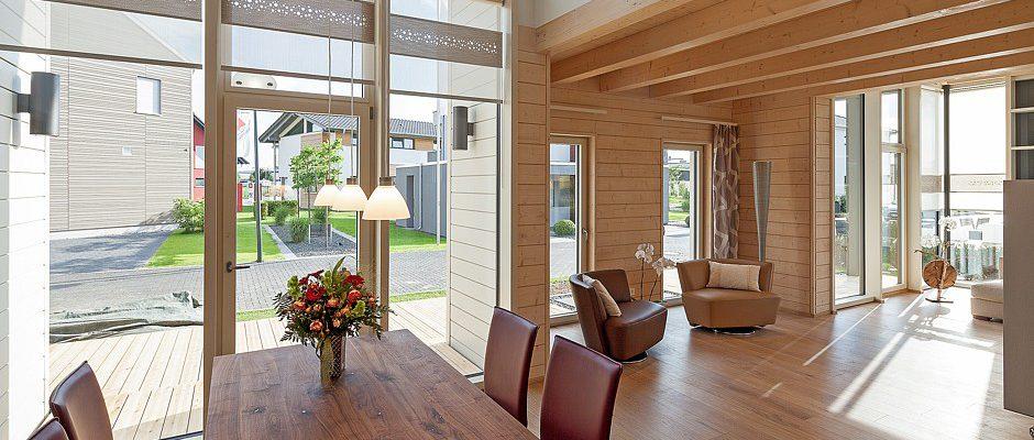 Holz-Fertighäuser fördern das Wohlbefinden | www.immobilien-journal.de
