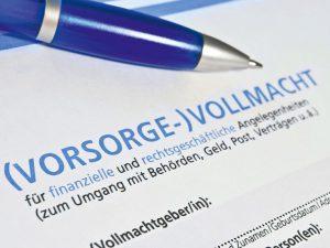 Vorsorgevollmacht und gesetzliche Betreuung im Hinblick auf Immobilien Foto: Berliner Volksbank Immobilien GmbH