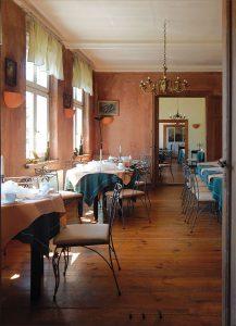 Speisesaal im Hotel Alte Försterei Kloster Zinna © Berliner Volksbank Immobilien GmbH
