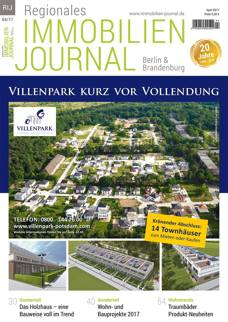 Regionales Immobilien Journal Berlin & Brandenburg April 2017