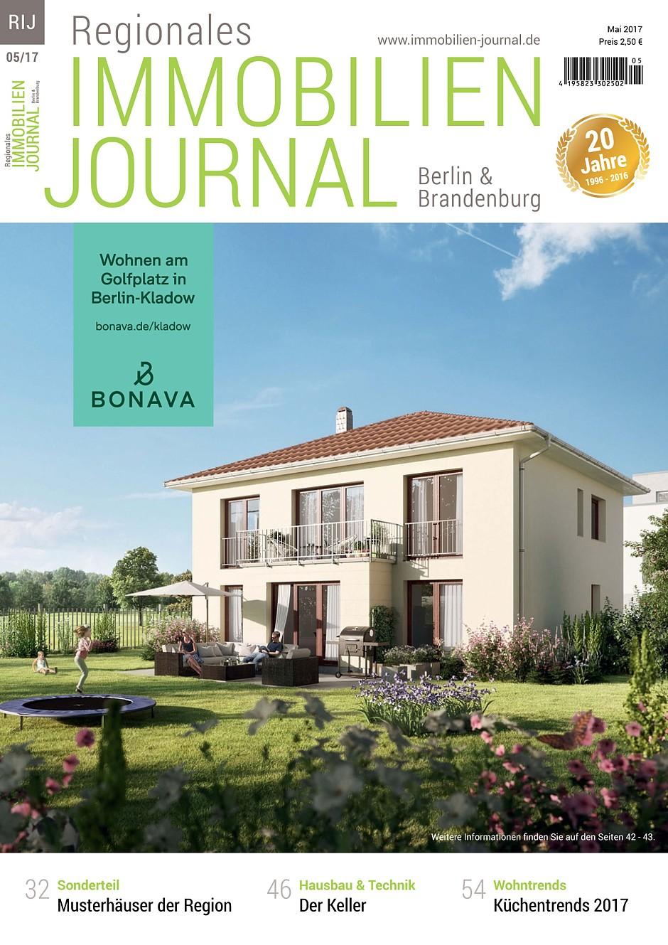 Regionales Immobilien Journal Berlin & Brandenburg Mai 2017