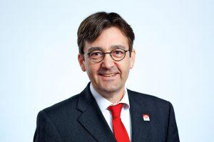 Günter Beierke, Baubiologe IBN, bei Roth-Massivhaus. Foto: Roth-Massivhaus