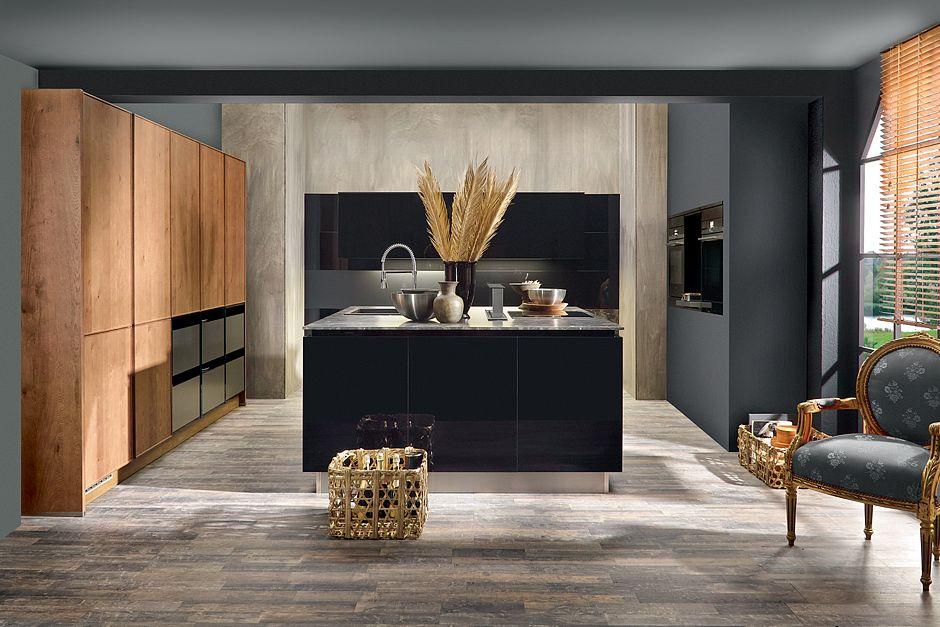 Holz in der modernen Küche