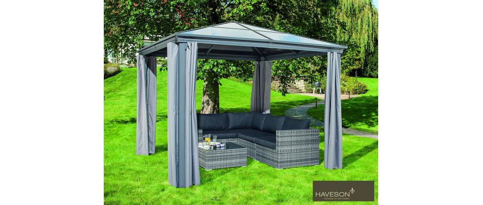 Ideen f r den sonnenschutz for Gartengestaltung pavillon ideen