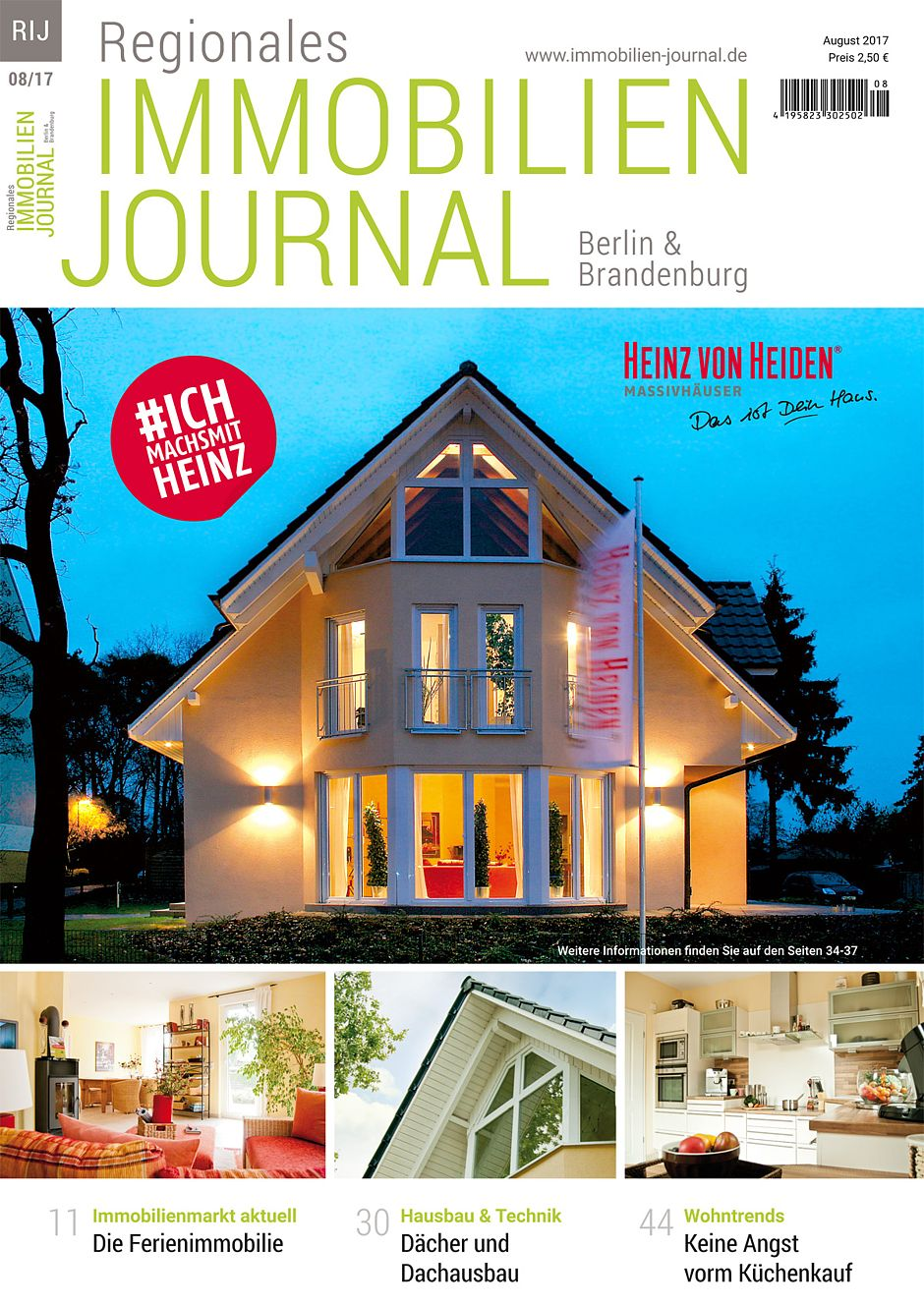 Regionales immobilien journal berlin brandenburg august for Hausbaufirmen brandenburg
