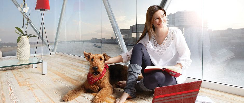 Wärmeschutz mit Sonnenschutzglas. Foto: VFF/Uniglas GmbH