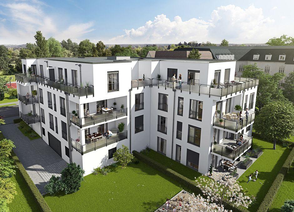 Elf unterschiedlich große Eigentumswohnungen entstehen in zentraler Lage in Potsdam. Alle verfügen mindestens über einen großzügigen Freisitz und sind hochwertig ausgestattet. Foto: HELMA Wohnungsbau GmbH