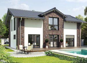 Hausbeispiel zur individuellen Bebauung im ersten Bauabschnitt der Havelmarina Foto: HELMA Wohnungsbau GmbH