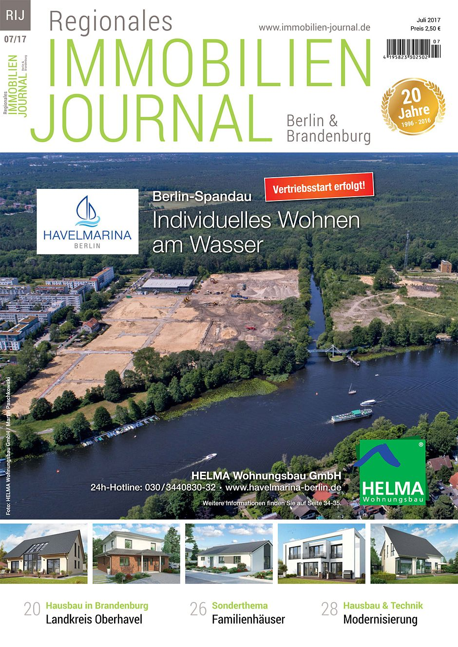 Baufirmen Berlin Brandenburg regionales immobilien journal berlin brandenburg juli 2017
