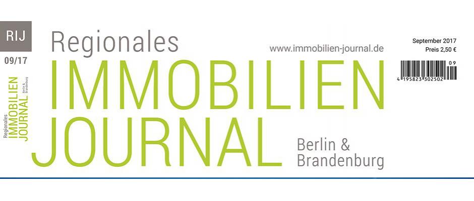 Regionales Immobilien Journal Berlin & Brandenburg September 2017