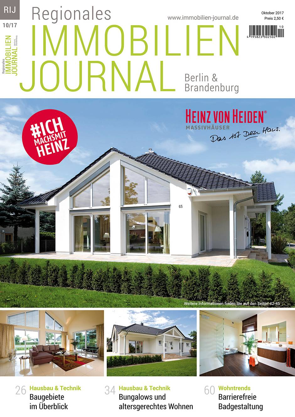 Regionales Immobilien Journal Berlin & Brandenburg Oktober 2017