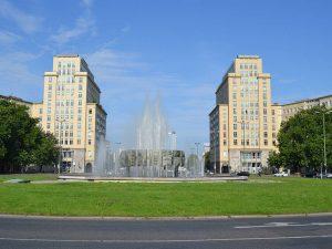 Straußberger Platz in Berlin Bild: BVBI
