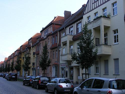 In Hennigsdorf gibt sich Oberhavel ganz städtisch. Photo by sludgegulper