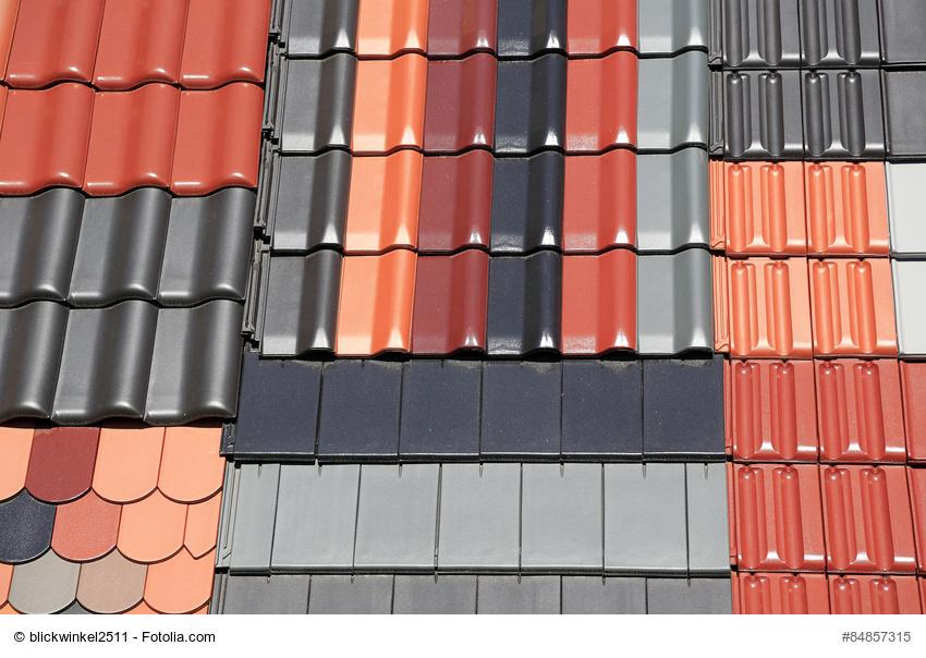 Dachziegelvarianten für ein Dach Foto: blickwinkel2511 - fotolia.com