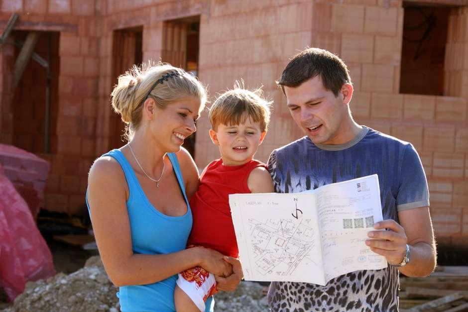 Bei der Planung eines Familienhauses sollten einige Dinge berücksichtigt werden Foto: Gina Sanders - Fotolia