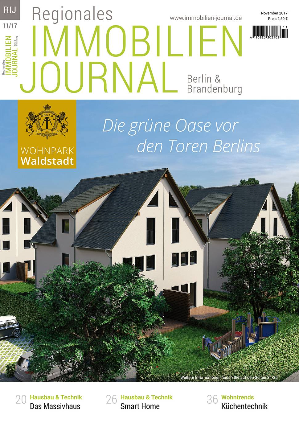 Regionales Immobilien Journal Berlin & Brandenburg November 2017
