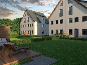 Wohnpark Waldstadt bei Zossen - Außenansicht