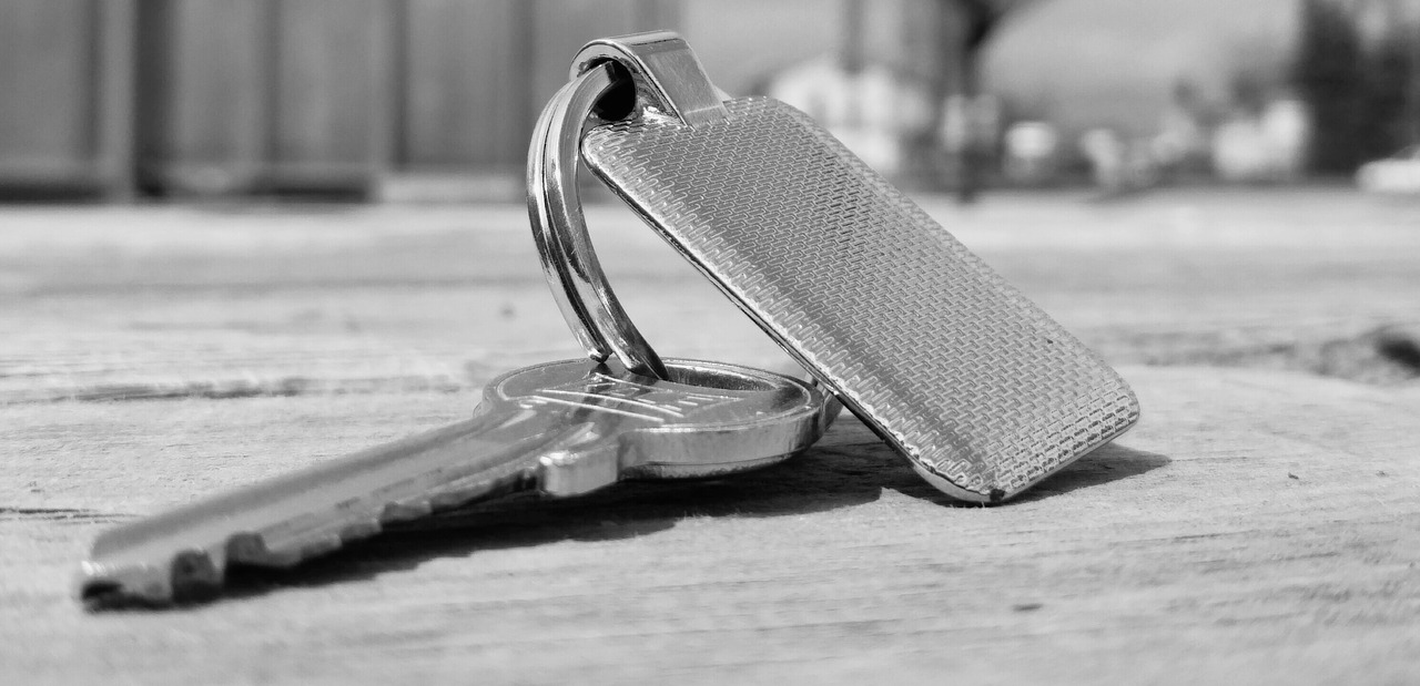 Schlüsselübergabe nach Abnahme des Bauwerkes