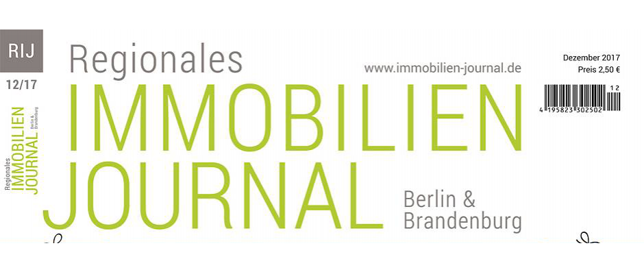 Regionales Immobilien Journal Berlin & Brandenburg Dezember 2017