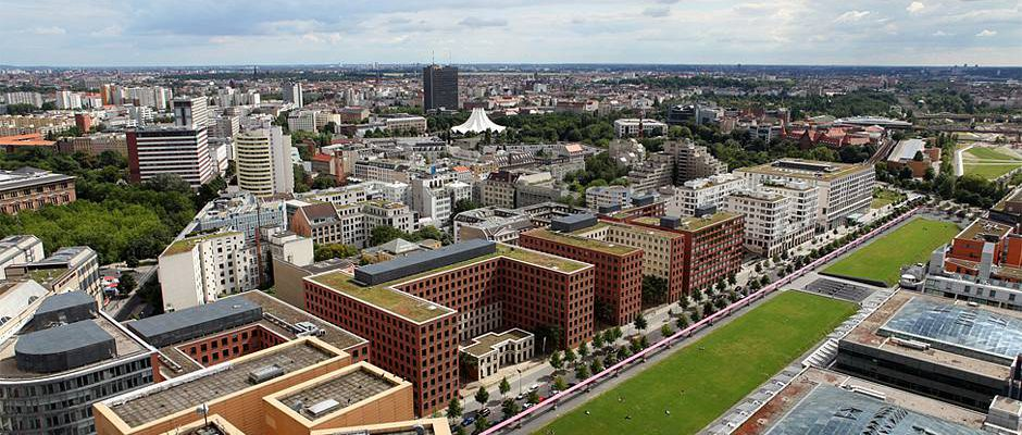 Der Tilla-Durieux-Park am Potsdamer Platz © BVBI