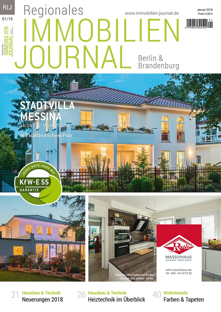 Regionales Immobilien Journal Berlin & Brandenburg Januar 2018