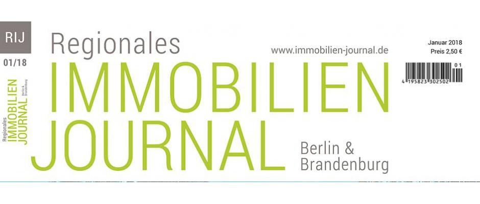 Regionales Immobilien Journal Berlin & Brandenburg Januar 2018