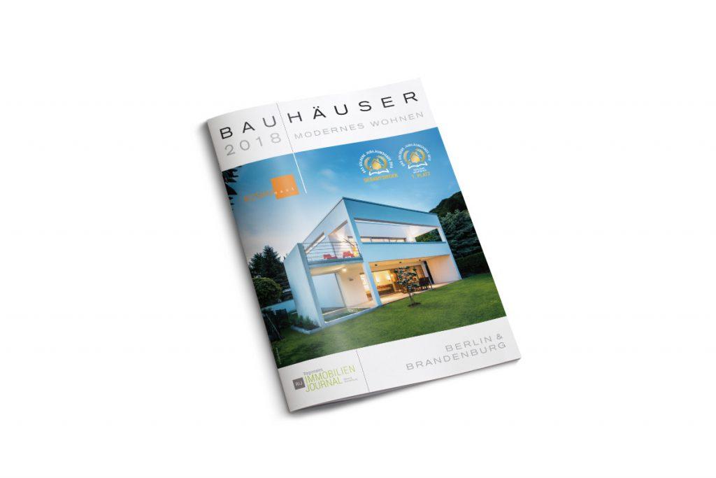 Bauhäuser - modernes Wohnen 2018 - Titel