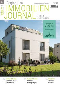 Regionales Immobilien Journal Berlin & Brandenburg Februar 2018