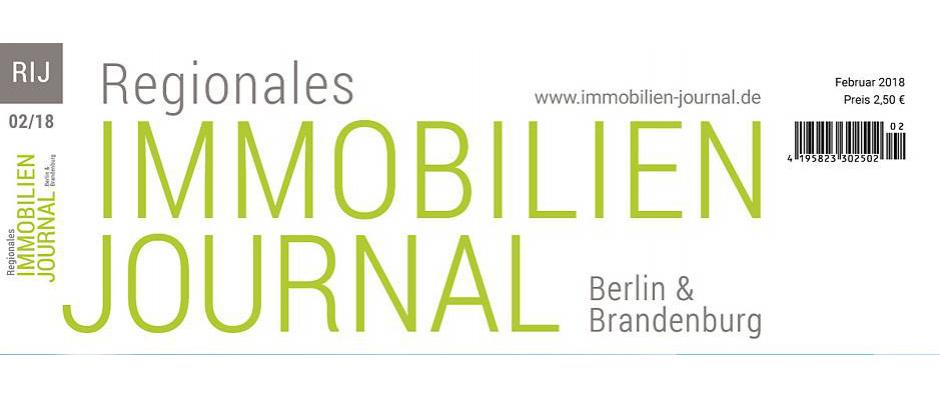 Regionales Immobilien Journal Berlin & Brandenburg Februar 2018
