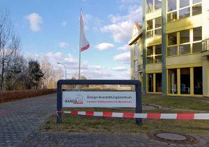 Eingang Design-Ausstattungscenter von Bärenhaus Foto: MH/RIV GmbH