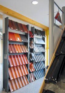 Neben dem Hausmodell werden in zahlreichen Kojen die verschiedenen Gewerke ausgestellt Foto: MH / RIV GmbH