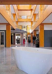 Das Erdgeschoss des Design-Ausstattungscenter Foto: MH / RIV GmbH
