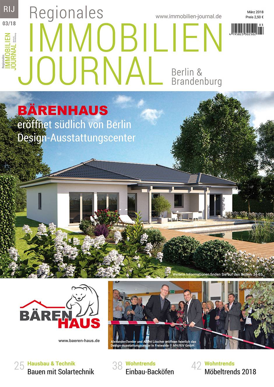 Regionales Immobilien Journal Berlin & Brandenburg März 2018