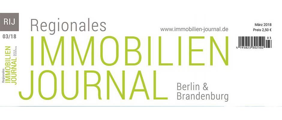 Regionales Immobilien Journal Berlin & Brandenburg März 2018