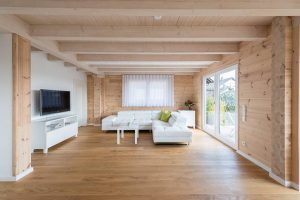 Das Wohnzimmer © Fullwood Wohnblockhaus