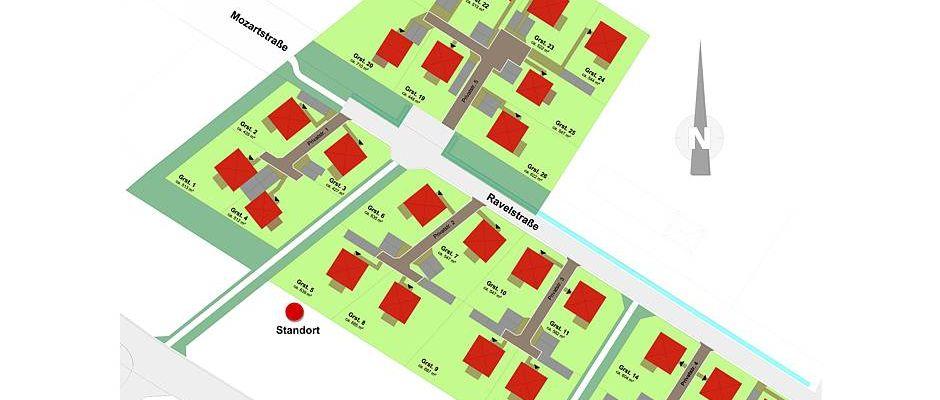 Lageplan des HELMA-Wohnparks im