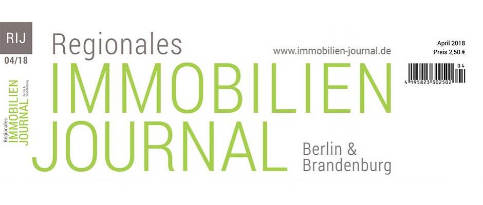 Regionales Immobilien Journal Berlin & Brandenburg April 2018