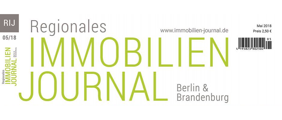 Regionales Immobilien Journal Berlin & Brandenburg Mai 2018