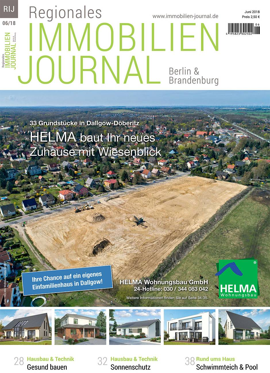 Regionales Immobilien Journal Berlin & Brandenburg Juni 2018