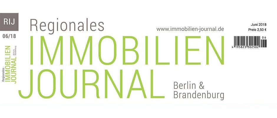 Regionales Immobilien Journal Berlin & Brandenburg Juni 2018